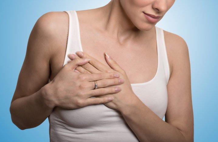 опухлими болями в грудях